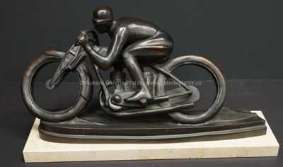 Otakar Švec - Motocyklista