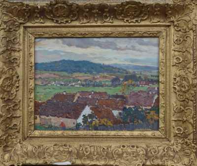Josef Ullmann - Červené střechy