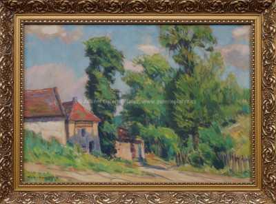 Rudolf  Walter - Okraj vesnice