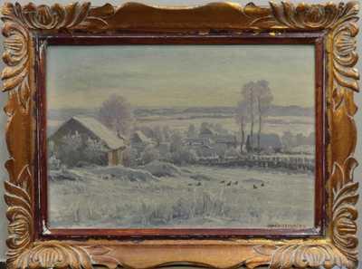 František Daněk - Sedláček - Zima