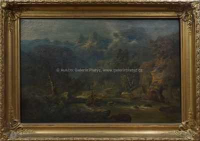 Alois Bubák - Horská řeka