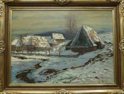 Jaroslav Panuška - Zima v horách