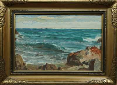 Antonín Hudeček - U moře