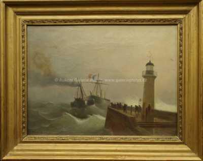 Autor neurčen - Maják Le Havre