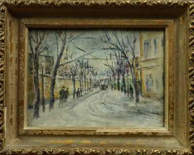 Ferdinand Kotvald - Viniční ulice v Praze