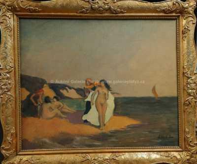 Jaroslav(Jaro) Svoboda - Dívky na pláži