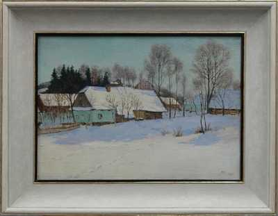 Oldřich Hlavsa - Chalupy v zimě