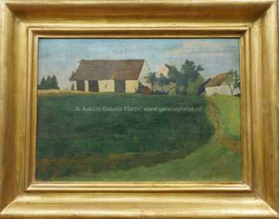 Josef Hubáček - Na kraji vesnice