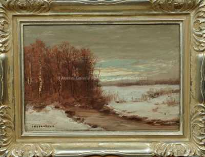 Otakar Hůrka - Zimní potok