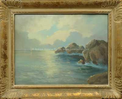Josef Písecký (Liška) - Lodě na horizontu