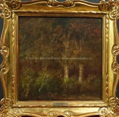 A. B. Piepenhagen - Stromy pod strání