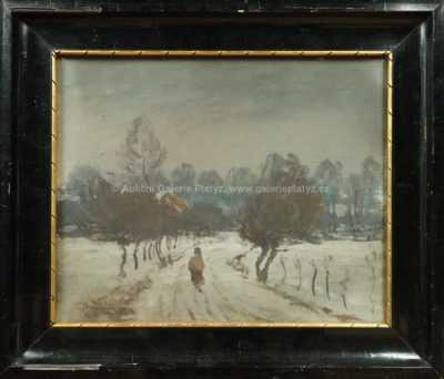 František Charvát - Zimní krajina