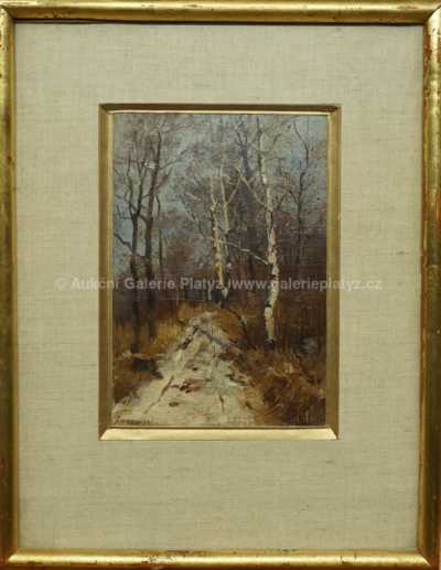 Stanislaw Zukowski - Zimní les