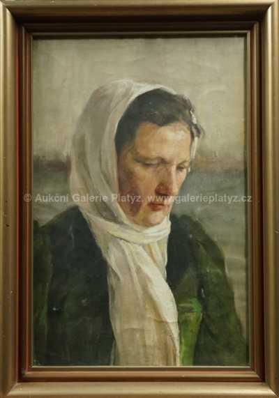 Augustin Němejc - Žena s šátkem