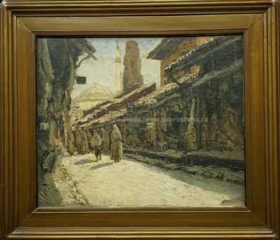 Josef Písecký (Liška) - Starý bazar ve Skopje