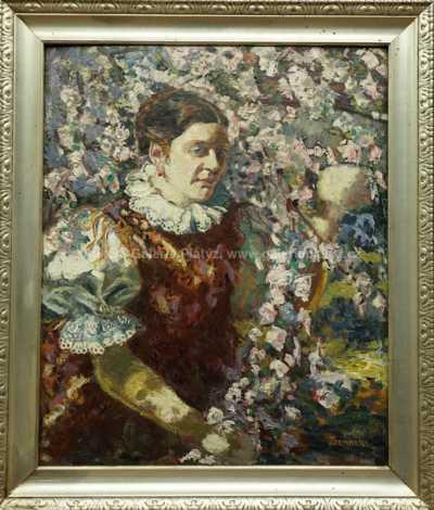 Josef Šembera - Dívka v kroji