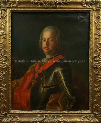 Nesignováno - Portrét Františka I. Štěpána Lotrinského