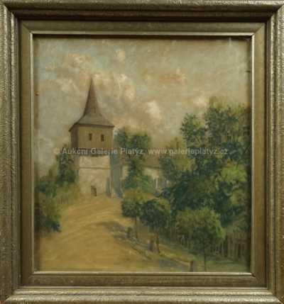Karel Langer - U kostela