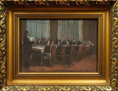 Karel Souček (Bor) - U dlouhého stolu