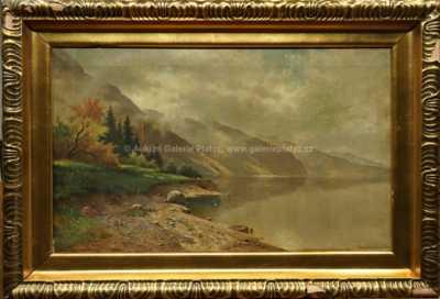 Fritz Chwala - U jezera