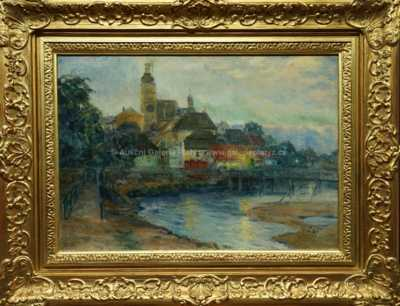 Město nad řekou