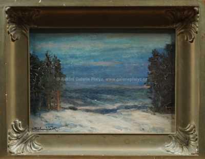 Ota Bubeníček - Zimní nálada