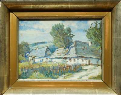 Gustav  Porš - Z české vesnice