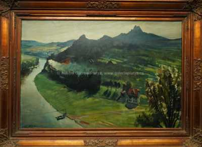 Ladislav Hlávka - Vlak u řeky