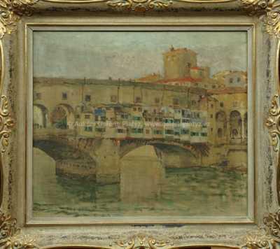 Autor neurčen - Ponte Vecchio - Florencie