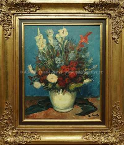Alois Kohout - Zátiší s květinami