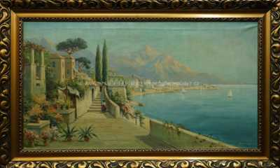 Alois Arnegger - Ostrov Capri