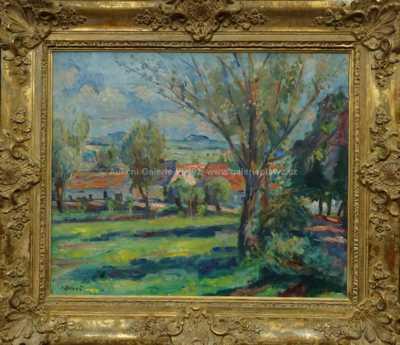 Vincenc Beneš - Na kraji vesnice