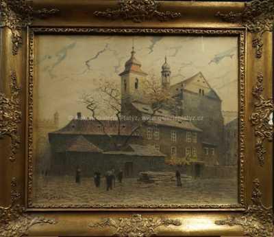 Václav Jansa - U starého kostela
