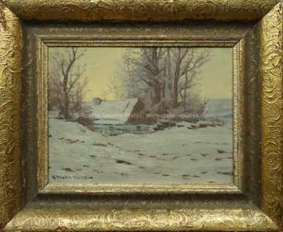 Otakar Hůrka - Zimní podvečer