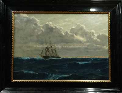 Michael Zeno Diemer - Loď v bouři