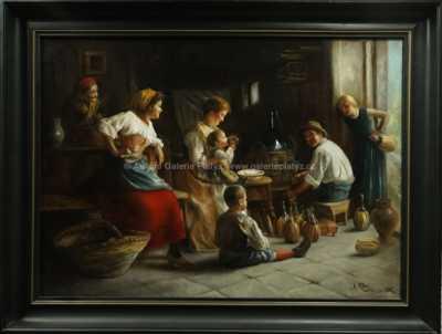 Alessandro Milesi - První ochutnávka vína