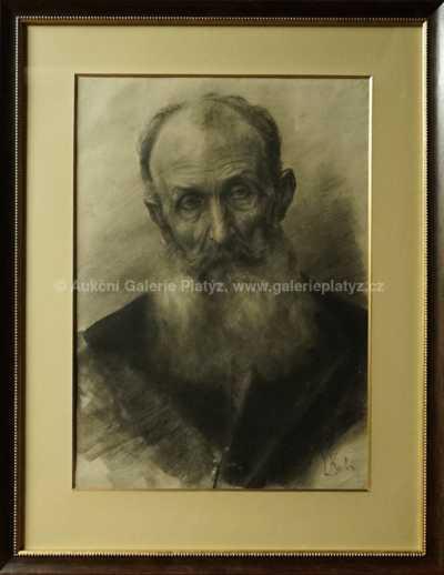 Ludvík Kuba - Portrét autorova otce