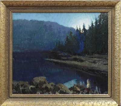 Gustav Macoun - Černé jezero