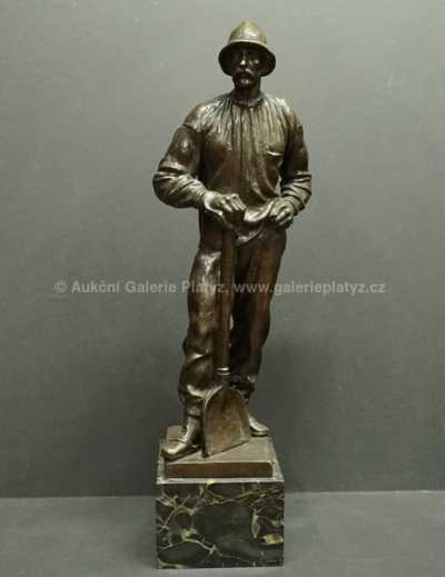Josef Kubíček - Figura muže