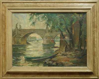 Karel Gabriel - Pod Karlovým mostem