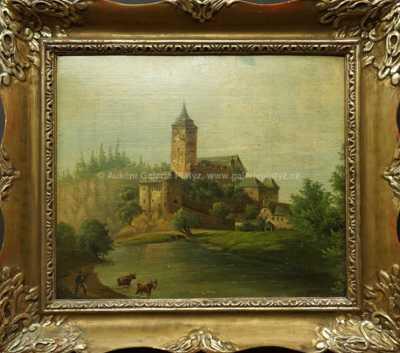 Autor neurčen - Na pastvě pod hradem