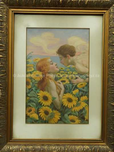 Josef (Joža) Koudelka - Mezi slunečnicemi