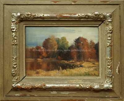 Josef Procházka - Podzimní rybník
