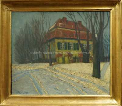 Alois Wierer - Zasněžená vila
