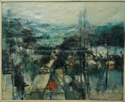 Milan Martinec - Pohled na vesnici