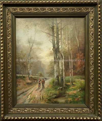 Ludvík Barták - Na kraji lesa