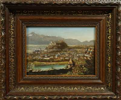 Louis Ritschard - Město pod Alpami