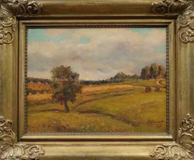 Alois Fišárek - Strom v krajině
