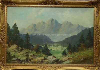 František Daněk - Sedláček - Pod skalnatými horami