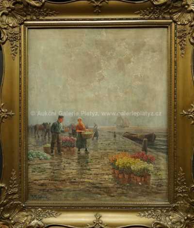 Autor neurčen - Květinový trh
